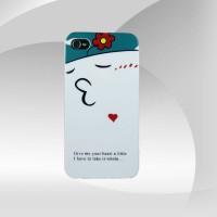 Bayanlar İçin Şirin Tasarım iPhone 4 Arka Kapak