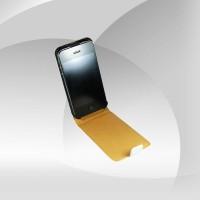 Beyaz Kasa IPhone 4S Deri Kılıf