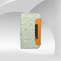 Deri Kapaklı iPhone 4 Cüzdan Kılıf