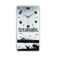 İstanbul Temalı Dekoratif Duvar Saati