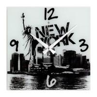 New York Resimli Duvar Saati