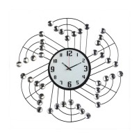 Rüzgar Gülü Modelinde Dekoratif Duvar Saati
