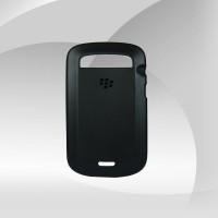 Siyah Silikonlu Blackberry 9900 Kılıf
