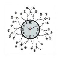 Dekoratif Taşlı Ferforje Duvar Saati