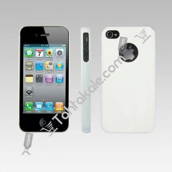 Beyaz IPhone 4G  4S Kılıfı