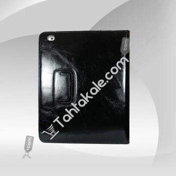 iPad 2 Colourfur Case Deri Siyah Kılıf