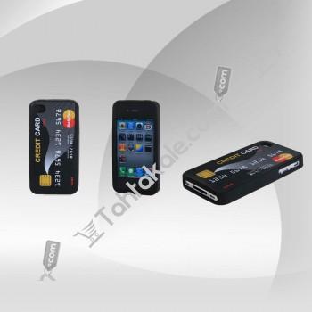 iPhone 4G 4S Kredi Kartı Arka Kapak