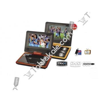 Ekranlı Taşınabilir DVD Player Kamosonic KS-PD713