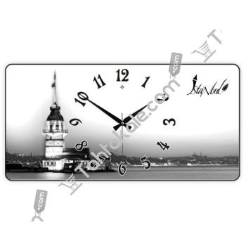 Kız Kulesi Temalı Duvar Saati