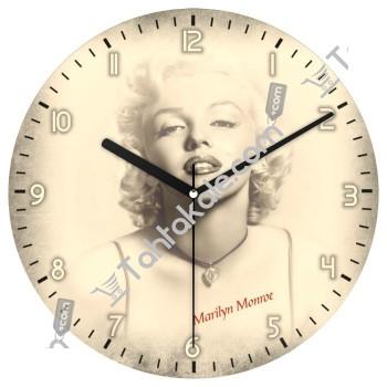 Marilyn Monroe Duvar Saati