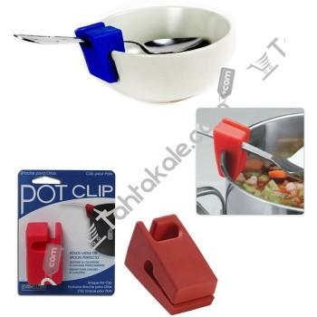 Pot Clip Kaşık ve Kepçe Tutucu