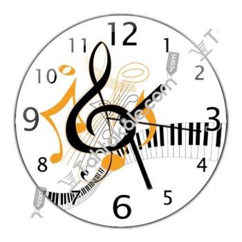 Sol Anahtarı Duvar Saati
